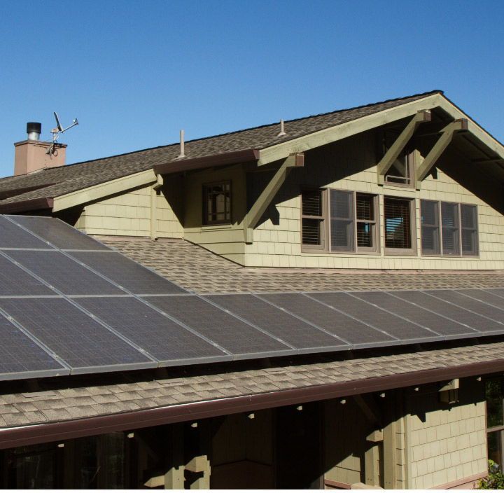 Solar energy can save you money on your home energy bills.